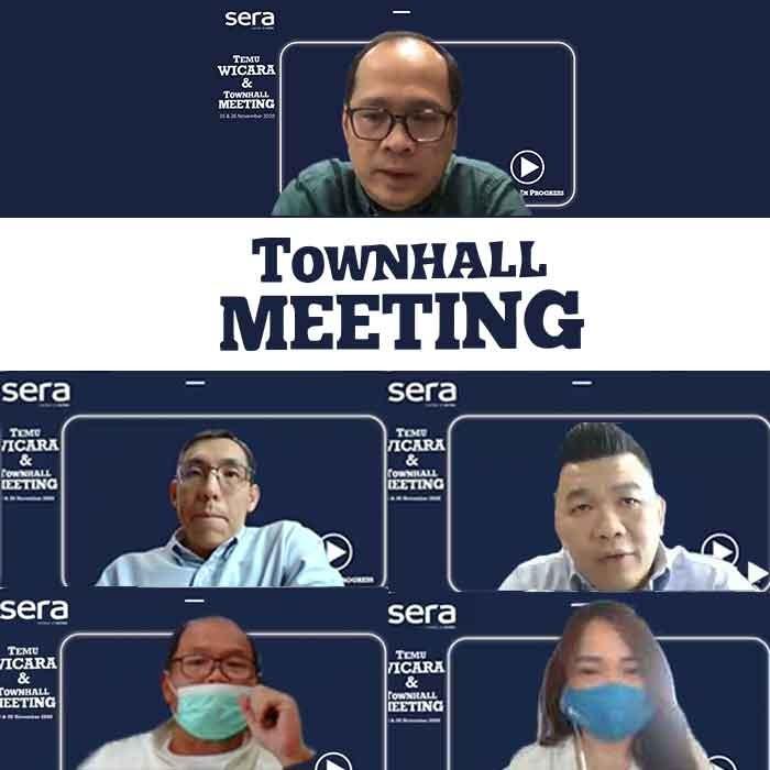 Digelar Virtual, SERA Mengadakan Town Hall Meeting 2020