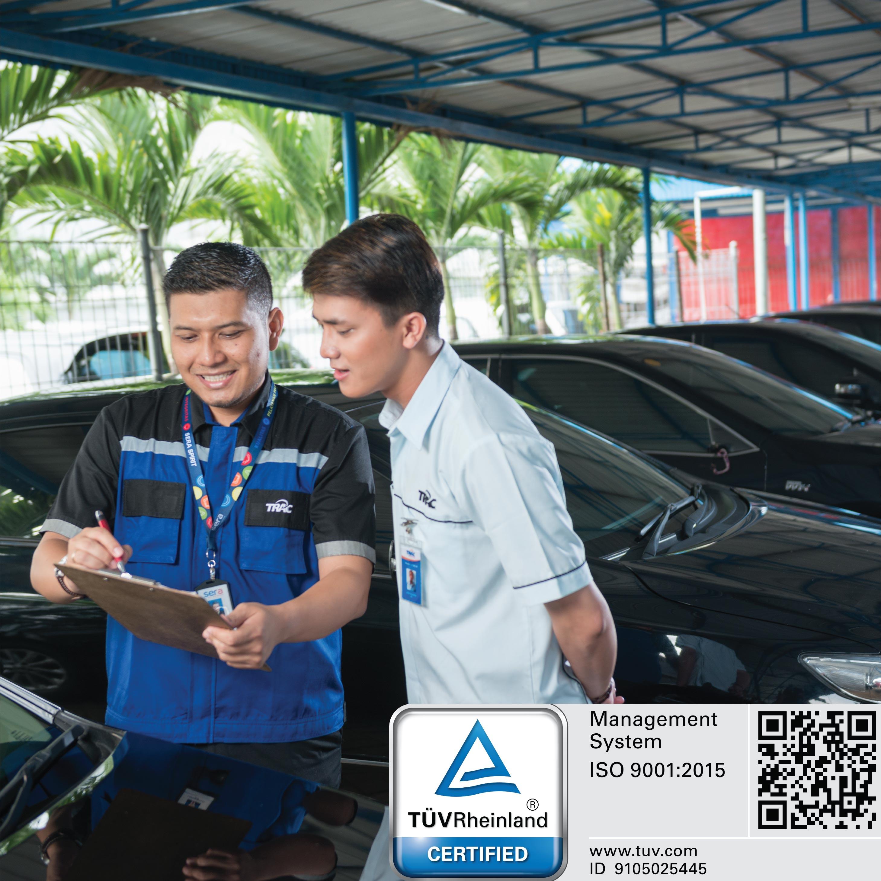 PT Serasi Autoraya Berhasil Mempertahankan Sertifikat ISO 9001:2015