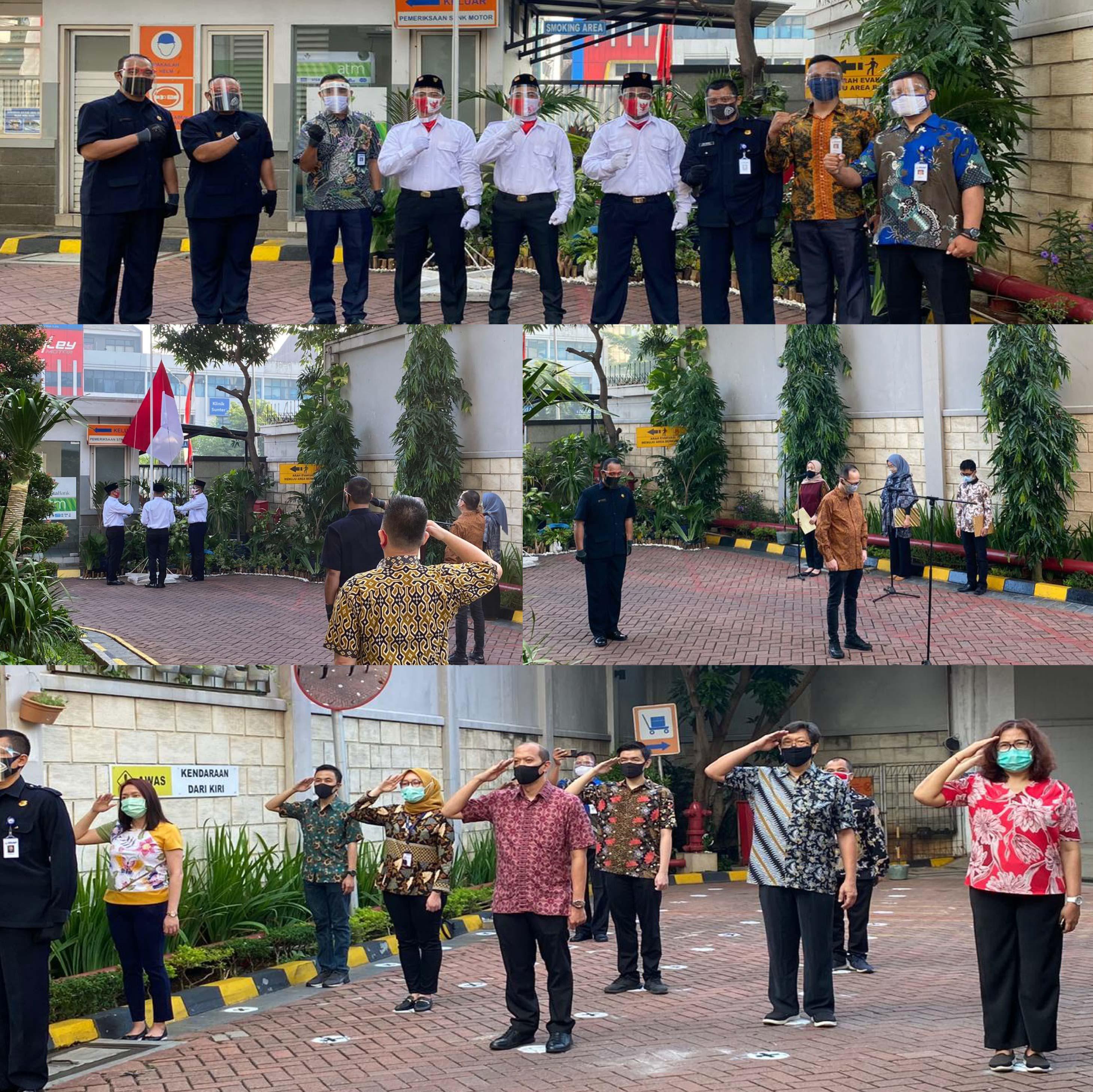 DIRGAHAYU INDONESIA, SERA MEMPERINGATI HUT RI KE-75 DENGAN PROTOKOL KESEHATAN