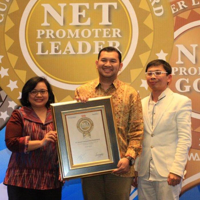O-RENZ Taxi Kembali Raih Penghargaan Net Promoter Award