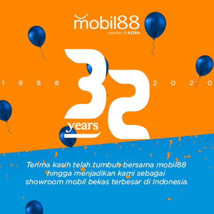 32 Tahun, mobil88 Berkarya Sebagai Used-Car Market Leader