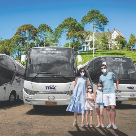 Belum Bisa Mudik Tahun Ini? Tetap Bersilahturahmi Menggunakan TRAC Bus