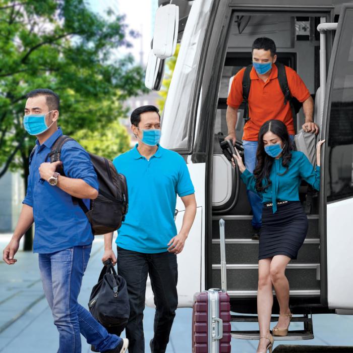 Ingin Menyewa Bus Di Tengah Pandemi, Perhatikan Beberapa Hal Ini