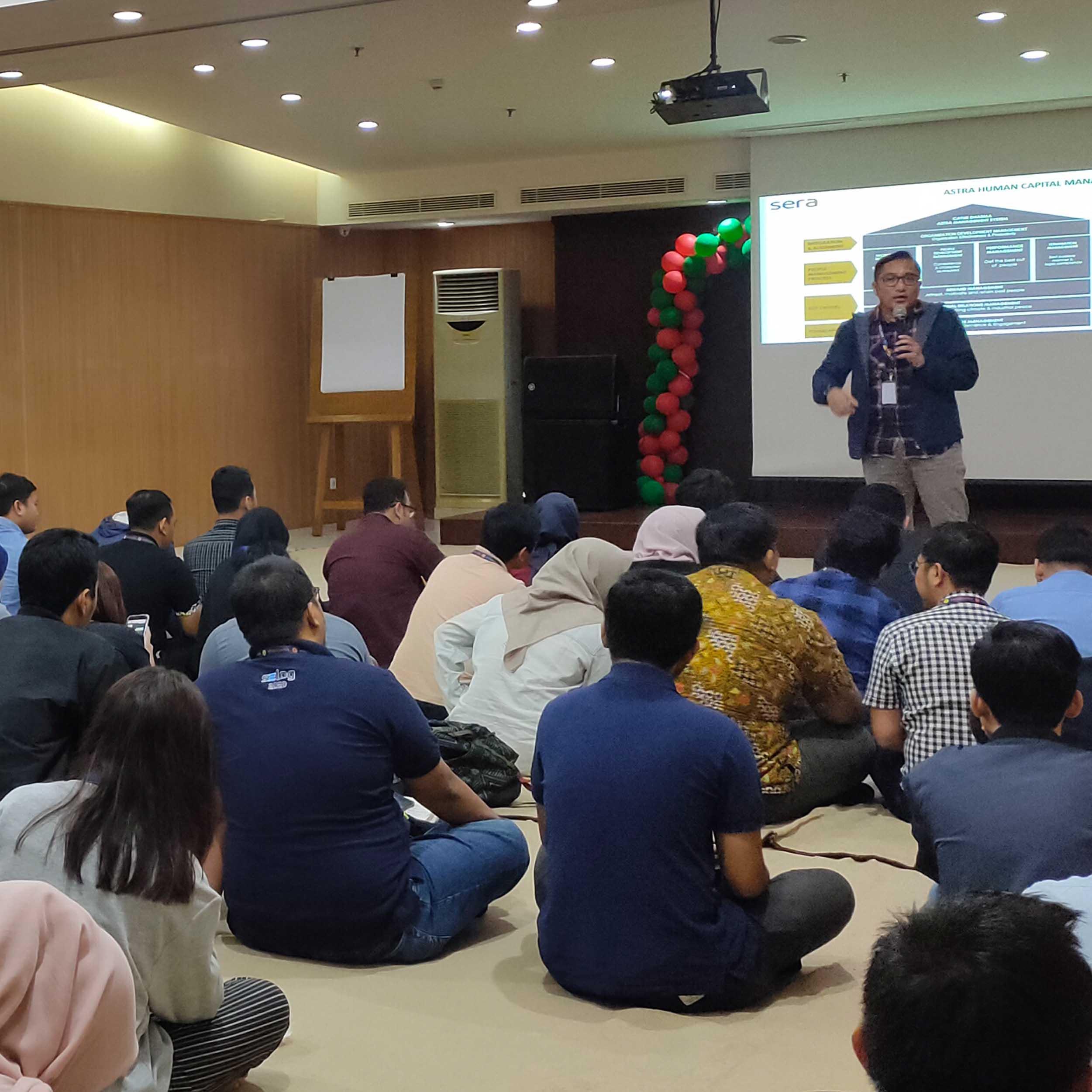 SERA Mengadakan Forum Diskusi G4 Sharing