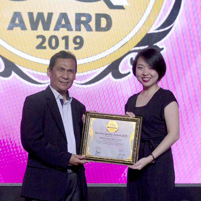 Kesembilan Kalinya TRAC Meraih Service Quality Award