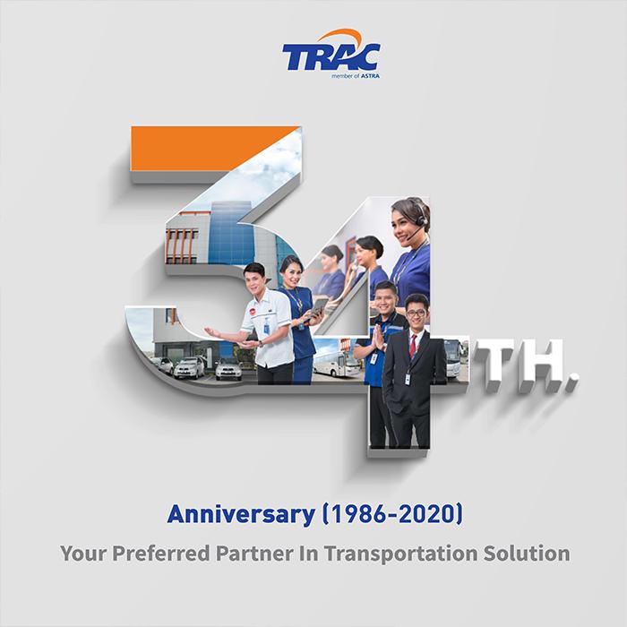 34 Tahun TRAC Melayani Dan Memberikan Solusi Transportasi Untuk Kebutuhan Mobilitas Masyarakat