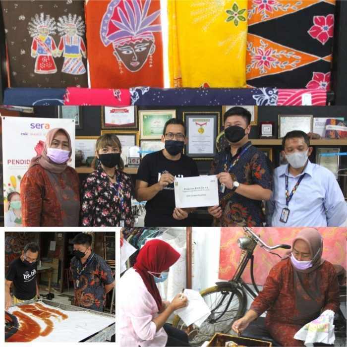 SERA Sahabat Disabilitas: Mendukung Rumah Batik Palbatu