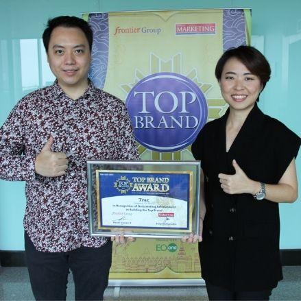 Kembali Menjadi Yang Terbaik, TRAC Meraih Top Brand Awards 2021