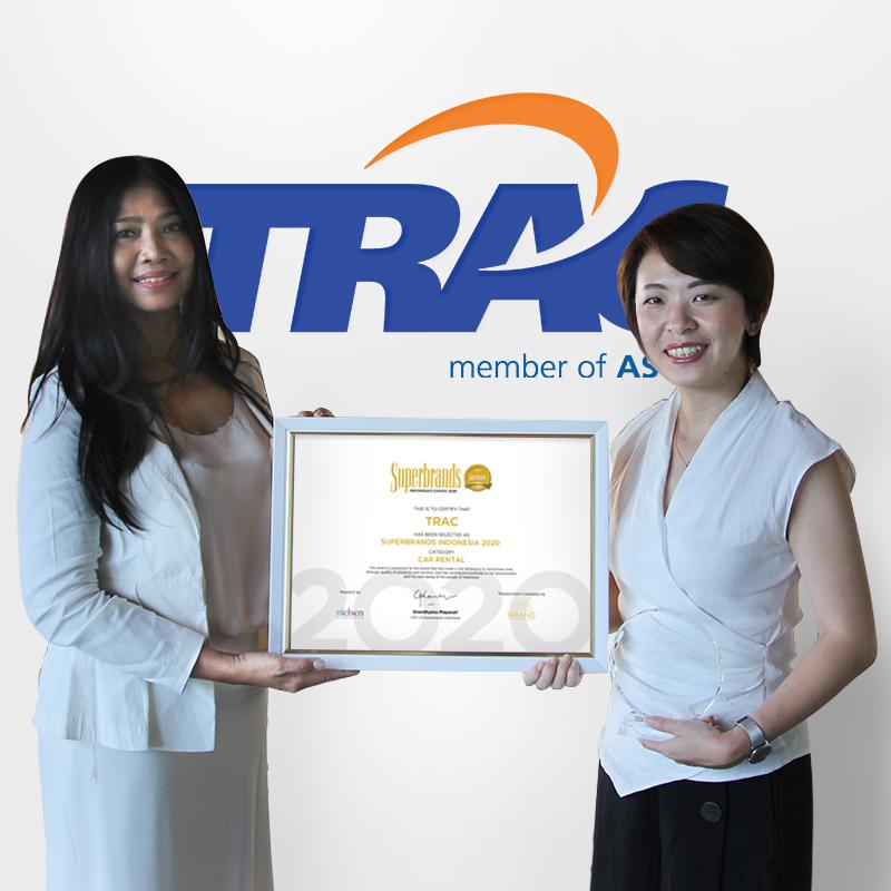 TRAC Berhasil Mempertahankan Prestasi Sebagai Car Rental Terbaik Dalam Superbrand Awards 2020